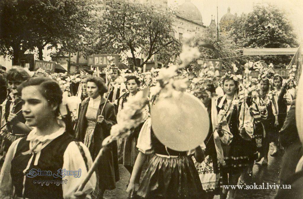 м.Сокаль, Парад