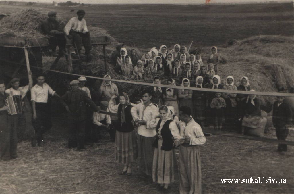м.Сокаль, Виступ агітбригади НД в с.Копитів