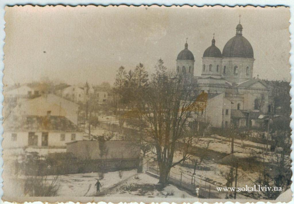 м.Сокаль, Вигляд на церкву  св. Петра і Павла