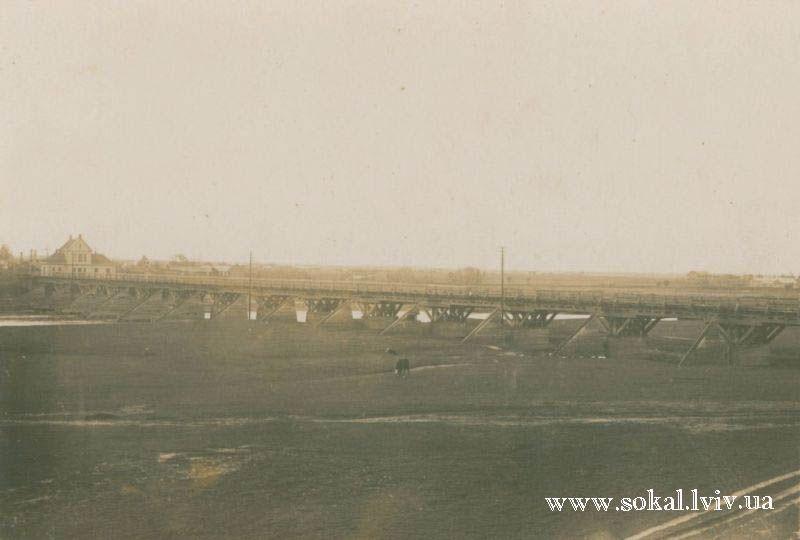 м.Сокаль, Міст зі Жвирки на Сокаль (колійовий)