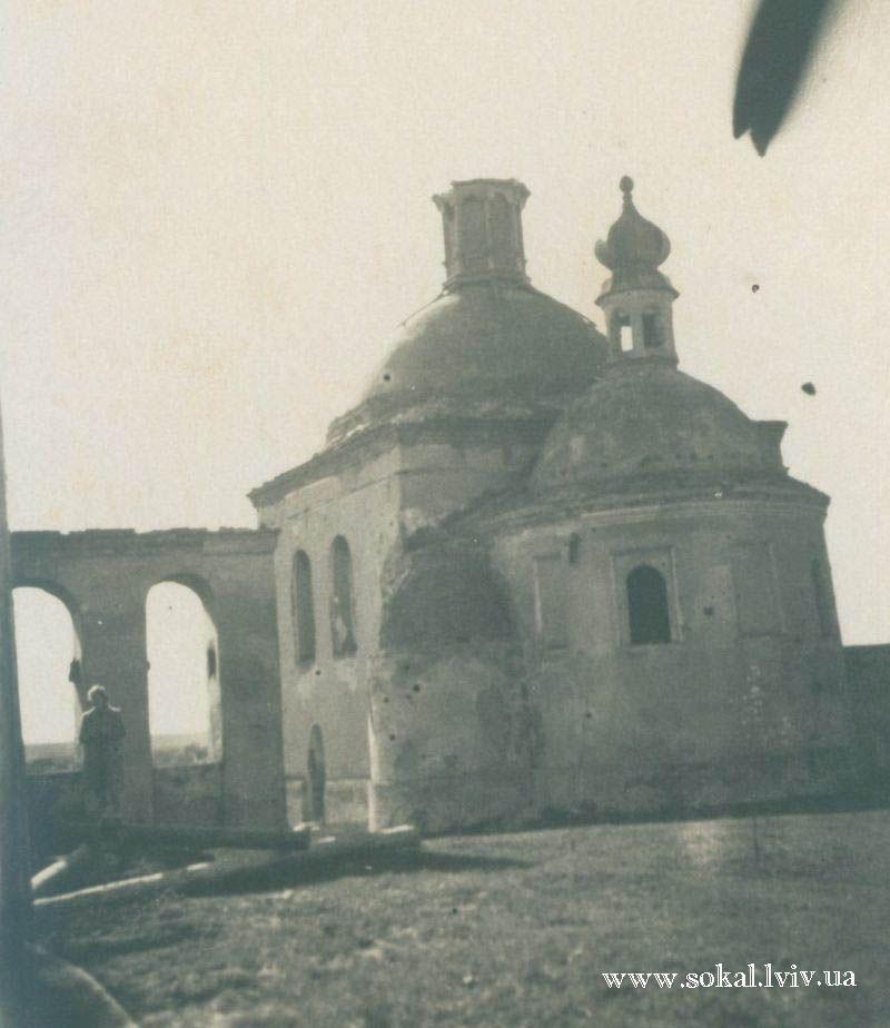 м.Сокаль, Церква св. Миколая (руїни)