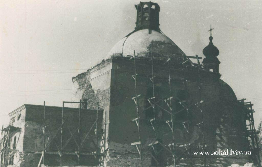 м.Сокаль, Церква св. Миколая реставрація