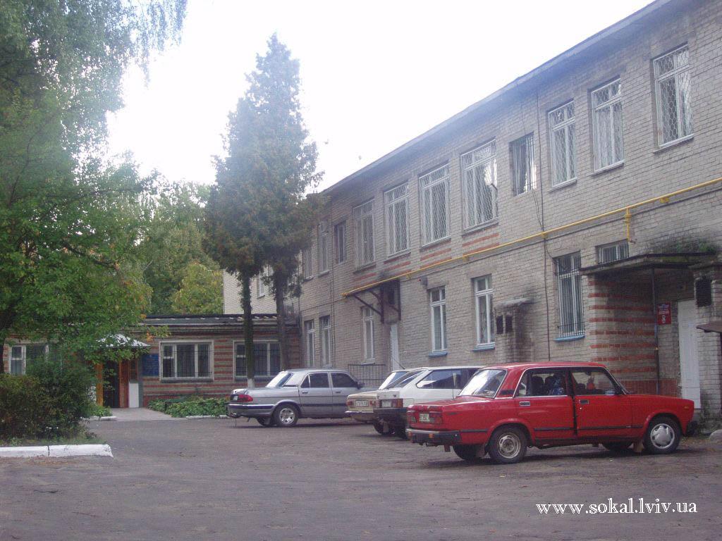 м.Сокаль, Управління пенсійного фонду (колишній дитсадочок № 4)