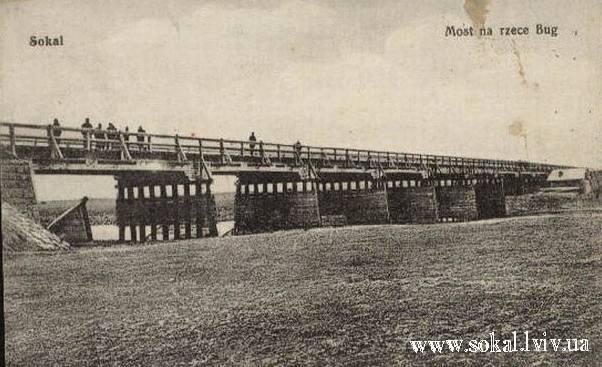 м.Сокаль, Міст на річці Буг