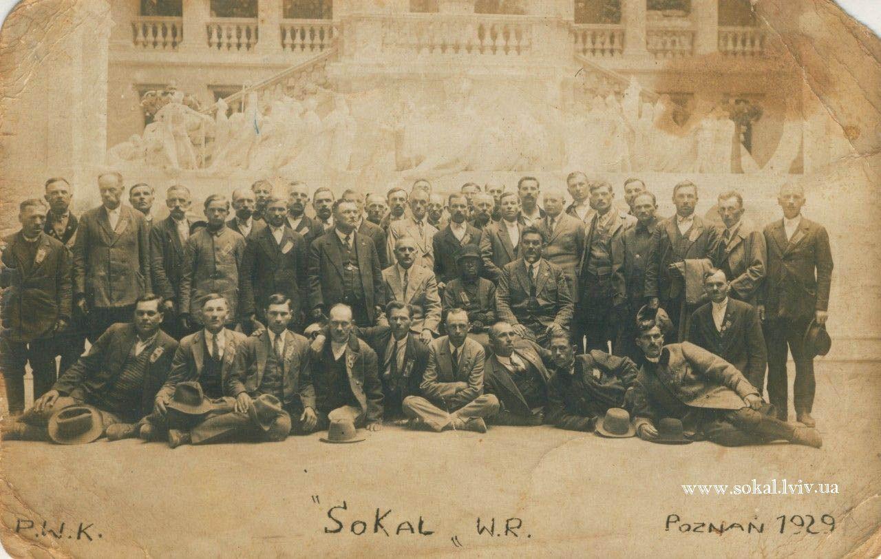 м.Сокаль, Сокальчани в Познані