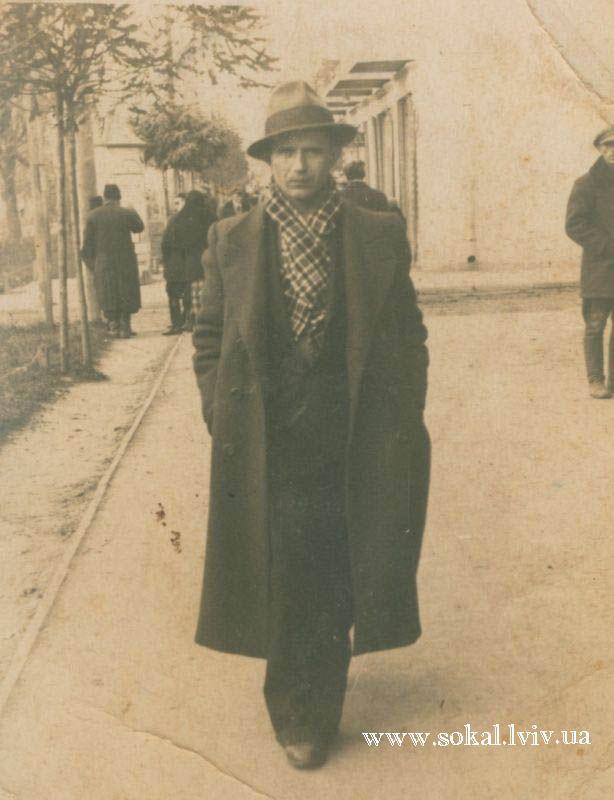 м.Сокаль, Еміліан Омелянсин війта Еміліан Омелян. По вул. Українській в Сокалі мав магазин. Був членом