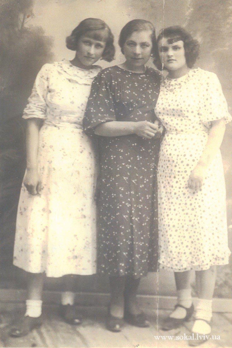 м.Сокаль, Студенти педшколисередня Анна Никін р.н.1897 міщанка