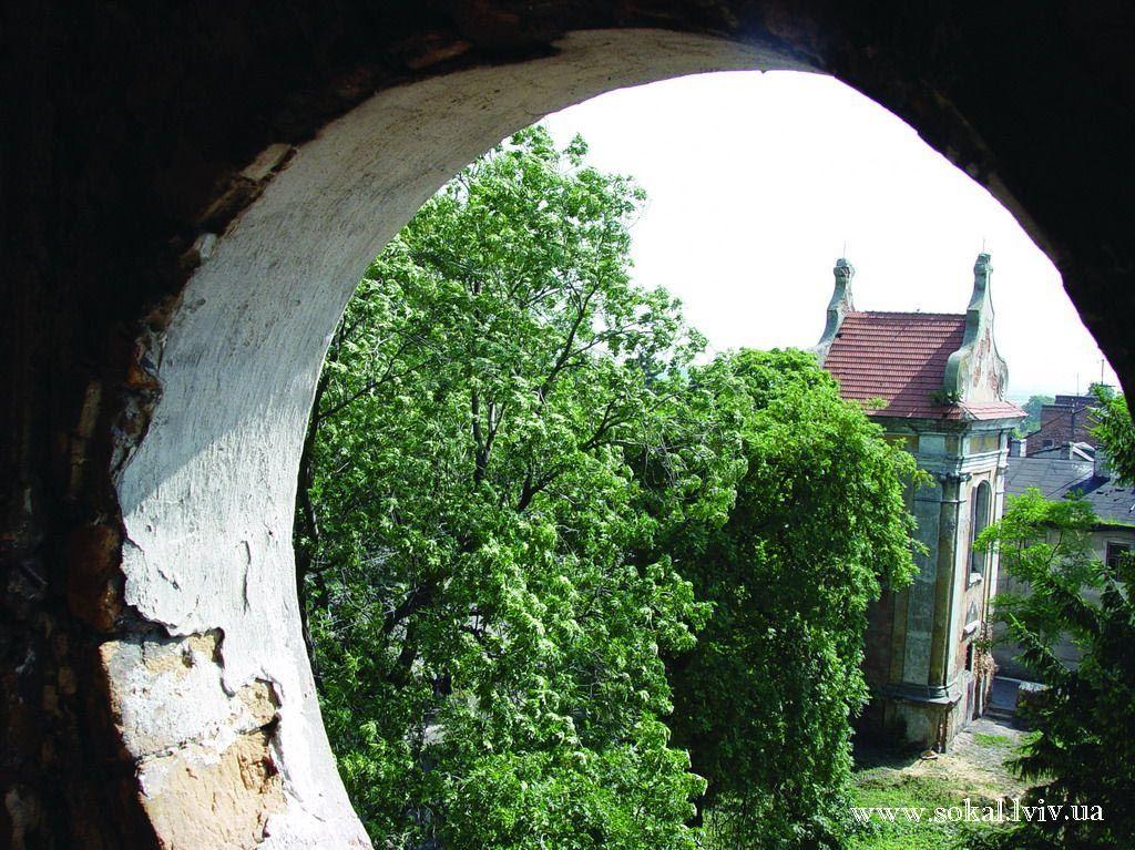 м.Белз, Дзвіниця кляштору домініканівзбудована в XVII cn.