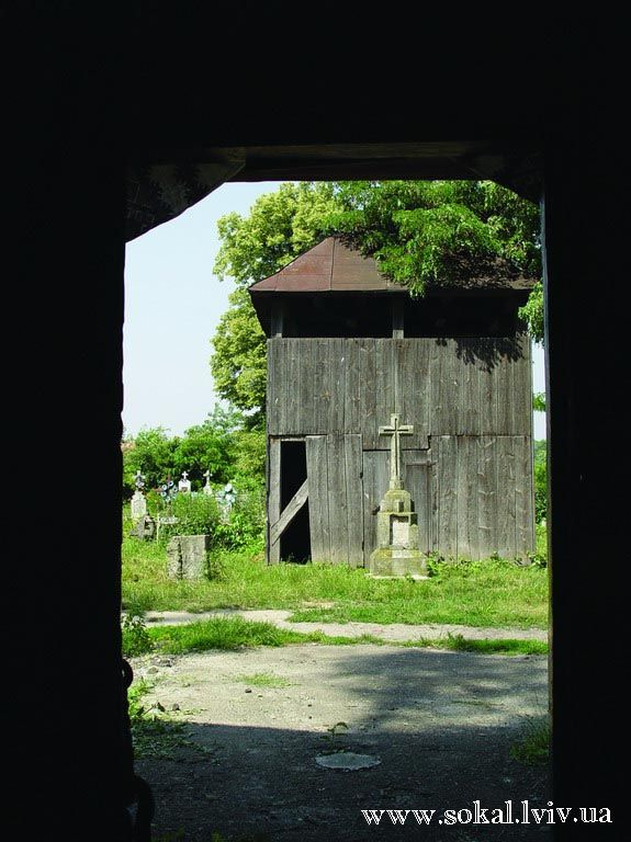 м.Белз, Церква св. Параскеви, дзвіниця