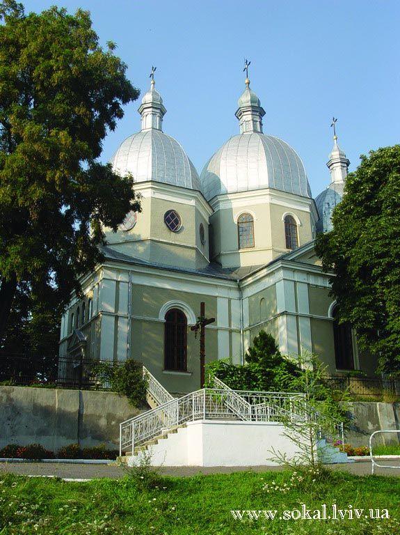 c.Скоморохи, Церква Вознесіння Господньогоспоруджена 1898 р.