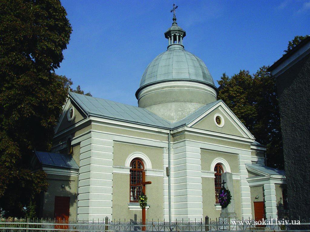 c.Ульвівок, Церква Успення Пресв. Богородиціпобудована в 1984 р.