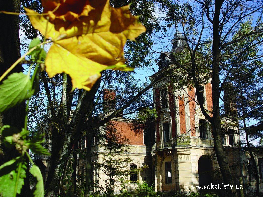 c.Тартаків, Палац Урбанських