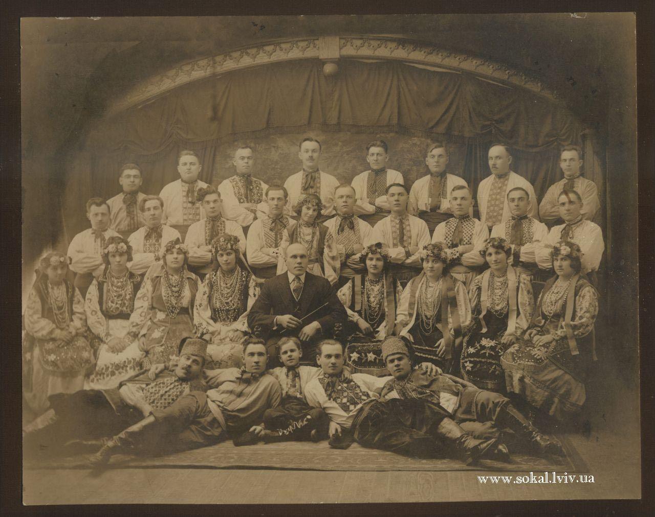 м.Сокаль, Сокальський хортретя зліва - Гринюк Ксенія