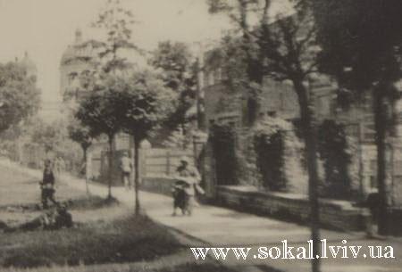 м.Сокаль, Німецький вояка спацерує по Сокалю