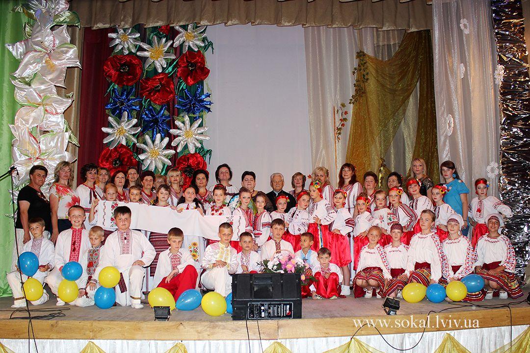 м.Сокаль, ювілейний концерт з нагоди 25-ої річниці творчої діяльності композитора Ольги Пенюк-Водоніс та 20-ої річниці з дня створення ансамблю «Берегиня»усі учасники концерту