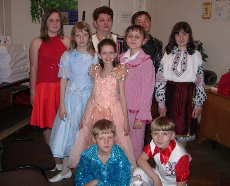 Юні співаки з Сокаля на концерті  У видавництві