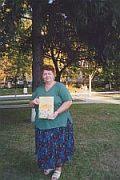 Автор с своєю новою поетичною збіркою
