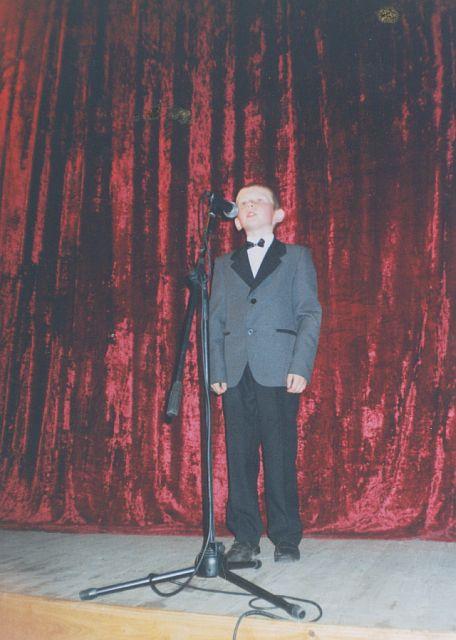 м.Сокаль, Б.АндрійчукНа концерті в РБК