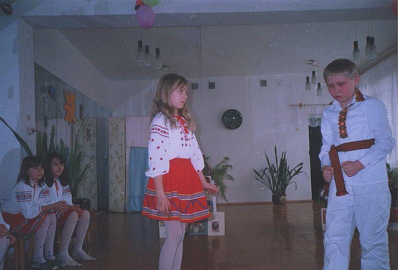 м.Сокаль, І.Сумбаєв у виставіНа  виступі в БУТ