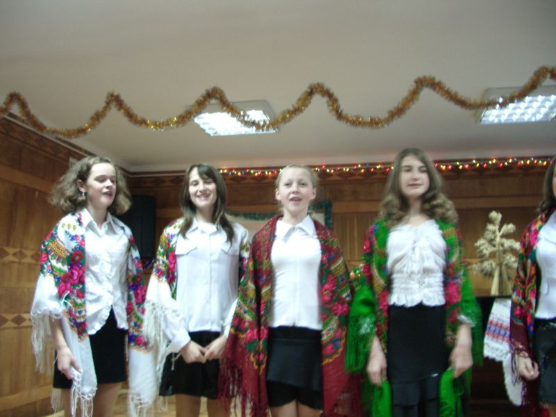 м.Сокаль,  різдвяний концерт в  Сокальській дитячій школі мистецтв ім. Віктора Матюка.
