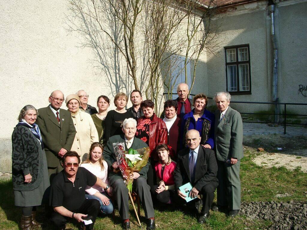 м.Сокаль, ЮВІЛЕЙВолодимир Сірко і члени ЛМО Колос