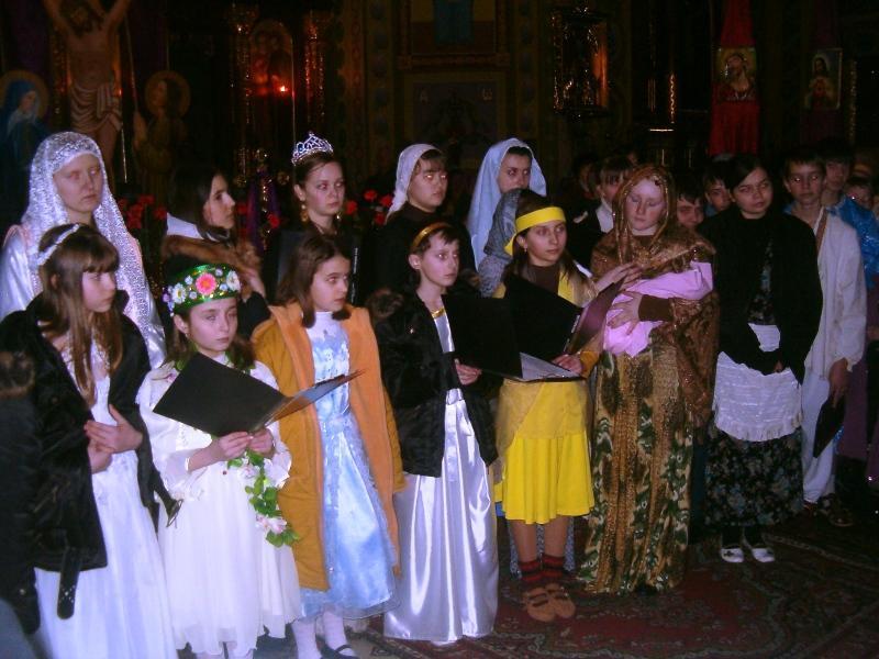 м.Сокаль, «Світло для світу»театральне дійство «Хресна Дорога»