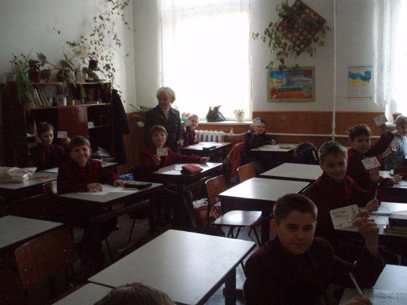 м.Сокаль, освітаНа фото ви бачите фрагмент уроку математики у 1-А класі, вчитель О.В.Галета