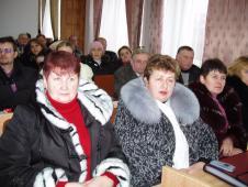 «Виробництво та застосування відновлюваних джерел енергії» конференція у сесійному залі Сокальської райдержадміністрації