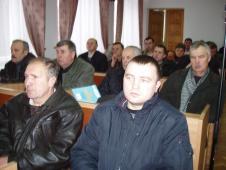 конференція   у сесійному залі Сокальської райдержадміністрації