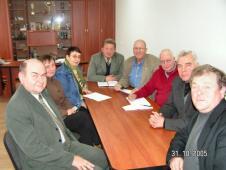 Петро Савчук, отець Ярослав Кащук, Мар'яна Яремчук, Альфред Лагервій і Аад Хармсен