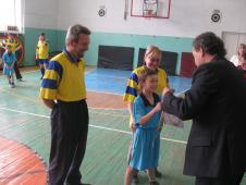 Богдан Збожнюк з батьками ІІІ місце