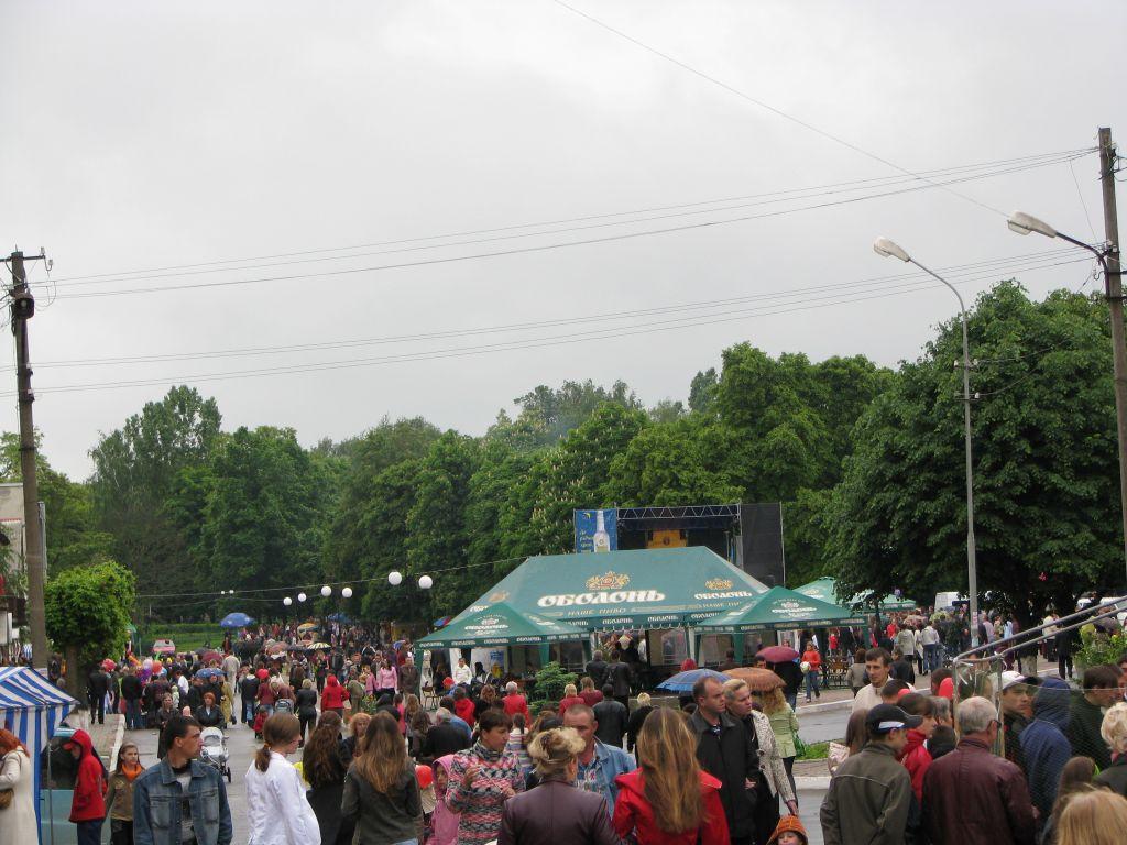 м.Сокаль, День міста - 2008. Сокаль. ФоторепортажПлоща міста під час святкування