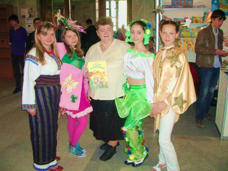 м.Сокаль, Сокальщина на форумі « Видавці – дітям»О.Пенюк - Водоніс з читачами