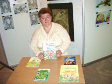 Сокальщина на форумі « Видавці – дітям»О.Пенюк - Водоніс та її збірки