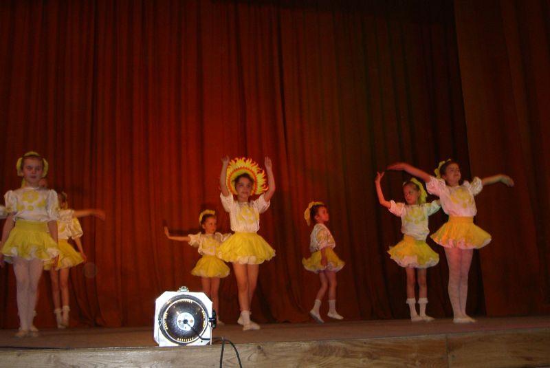 м.Сокаль, Танцювальна феєріятворчий звіт хореографічного відділення Сокальської дитячої школи мистецтв ім. В.Матюка.
