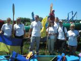 команда Сокаля на сокальському березі