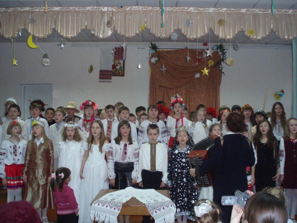 м.Сокаль, освітаСвято Миколая найулюбленіше для дітвори. У цьому році організували його учні 1-х класів (кл.кер. Матвійчук А.М. і Куцяба Н.П.).