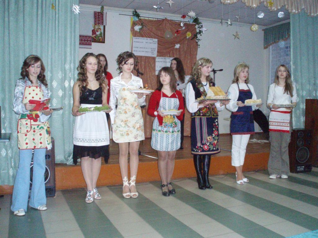 м.Сокаль, освітаНаші дівчата не лише красиві і талановиті, а й чудові господиньки