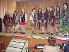 Районний конкурс «Різдвяні канікули-2009».Гімназисти також і співають, і колядують