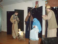 Цього року ми мали унікальну можливість поспілкуватися із братами з Крехівського монастиря. Вони приїхали із Вертепом до нас у гімназію на запрошення дирекції.