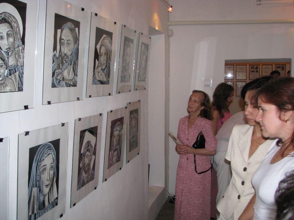 м.Сокаль, Виставка  народної майстрині Русу Міци (Румунія-Італія)