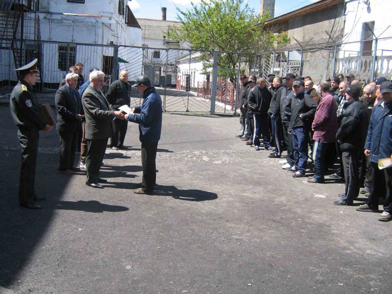 м.Сокаль, В Сокальській ВК №  47, відбулася зустріч із засудженими.