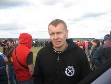 Сашко Положинський теж грає у футбол