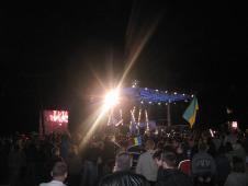 дні  добросусідства на Сокальщиніконцерт на кордоні