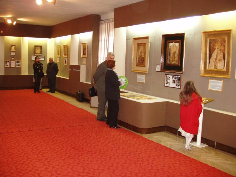 Виставка Анатолія Покотюка «Під Твою милість прибігаєм, 21 жовтня 2005 р. в м. Луцьк у Волинському краєзнавчому музеї