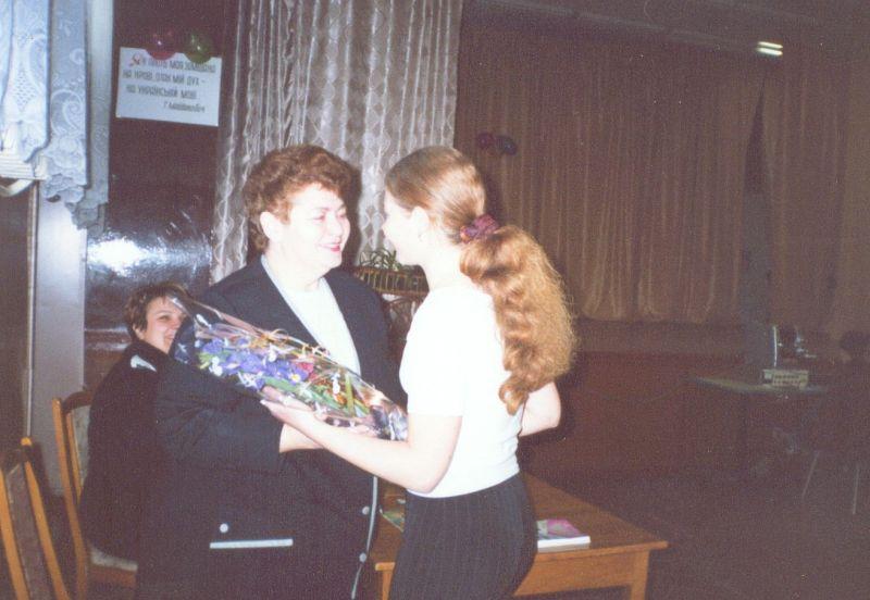 м.Сокаль, 28 листопада в СШ№4 відбулась творча зустріч з  Ольгою Пенюк.