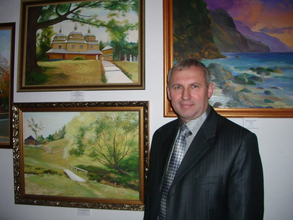 м.Сокаль, Чарівний пензель митцяЯрослав Футиш - відкриття персональної виставки