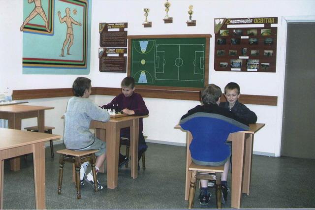 м.Сокаль, СЗШ І-ІІІ ст. №4 м.СокаляНа шаховому турнірі в школі