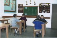 На шаховому турнірі в школі
